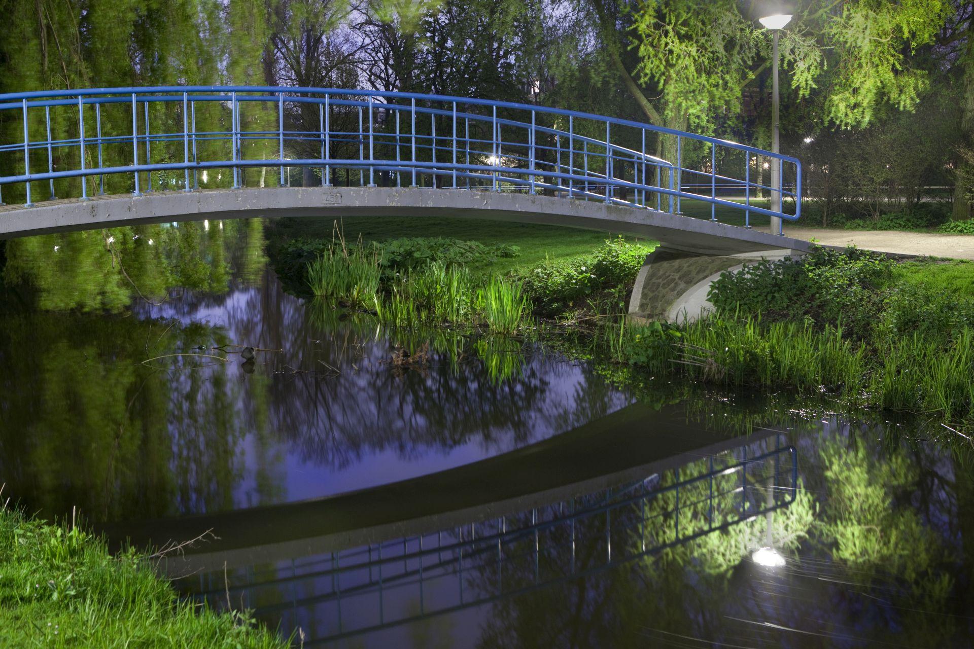 de stad Vondelpark nacht (3 van 8)