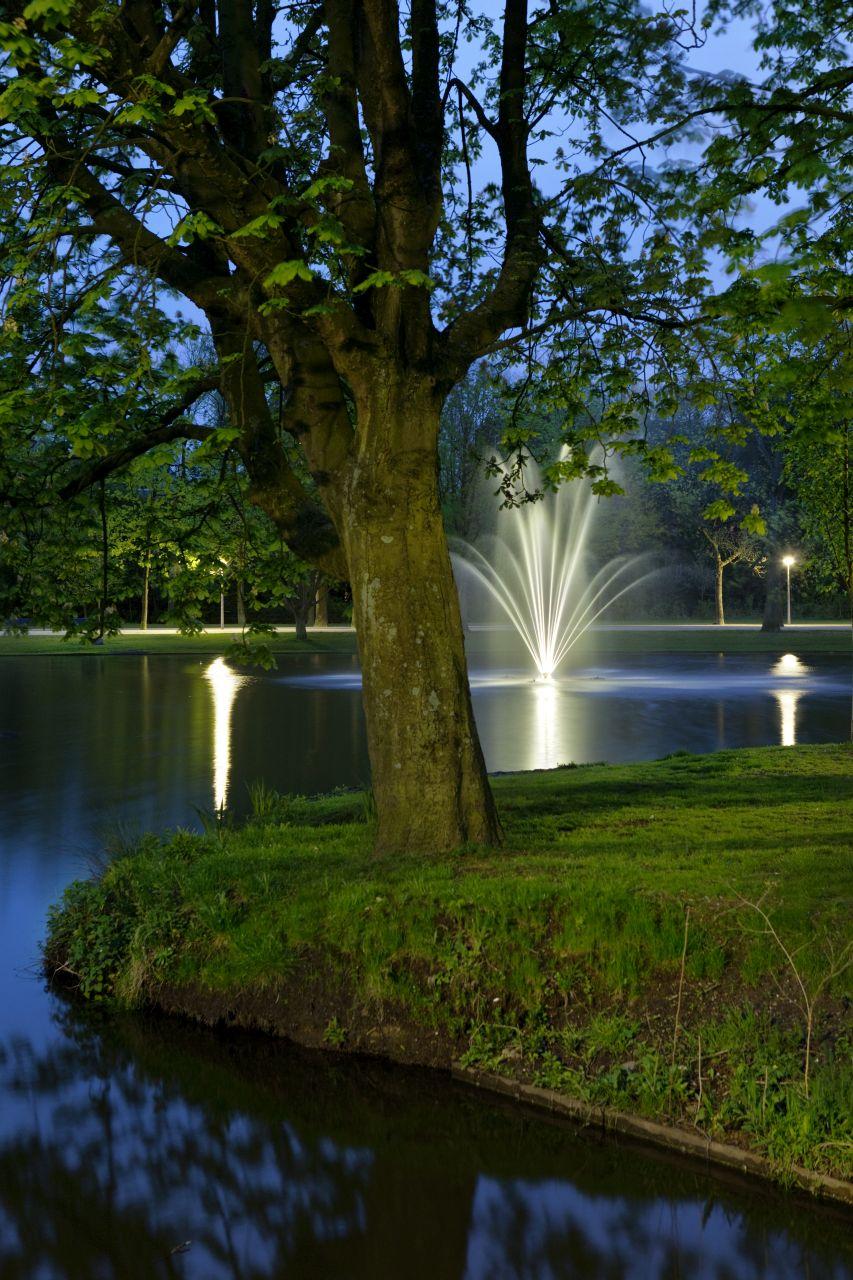 de stad Vondelpark nacht (5 van 8)