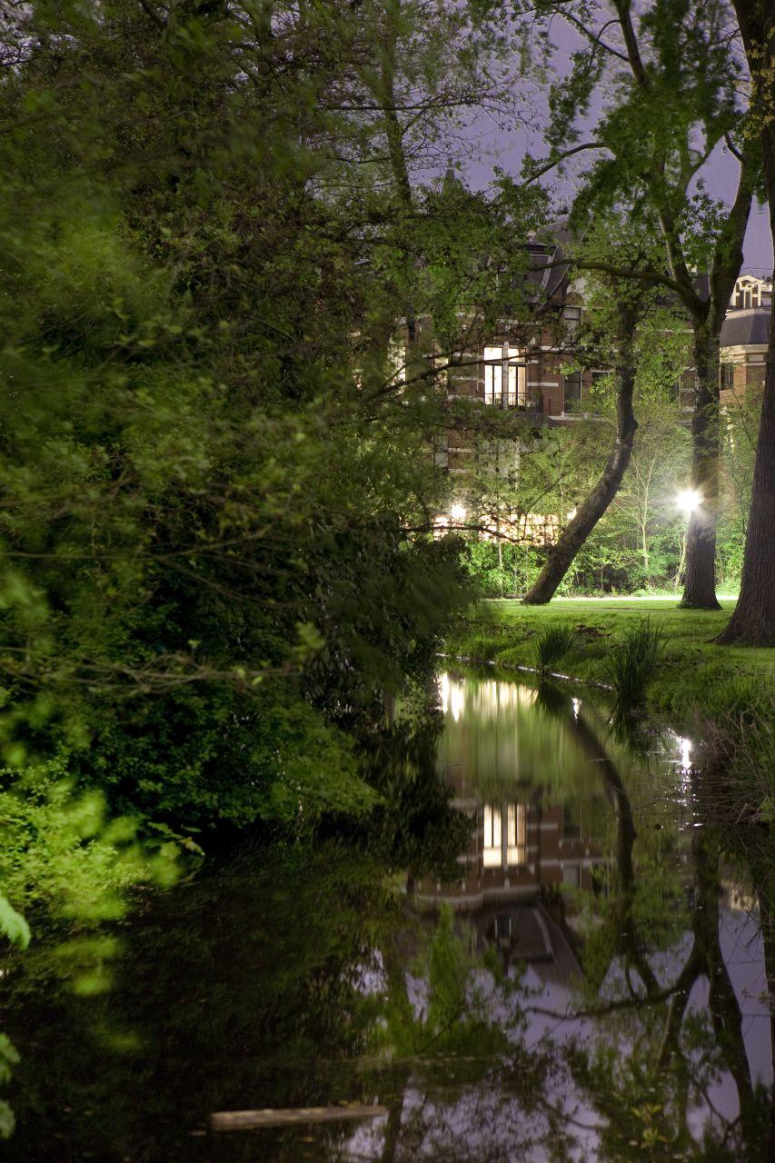de stad Vondelpark nacht (8 van 8)